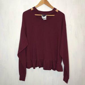 ASOS Milk.it Vintage Retooled Sweatshirt L